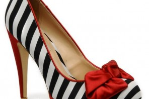 Dune Belma stripe court shoes