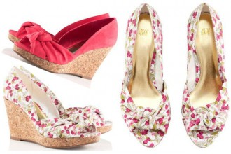 H&M Cork wedges