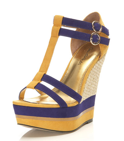 Miss Selfridge Willa wedges