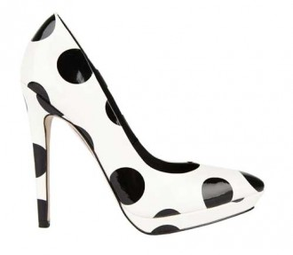 ASOS spotted pumps