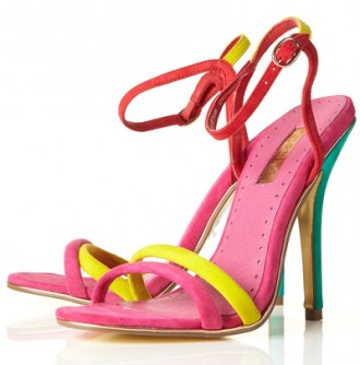 Topshop 'Reem' super skinny sandals