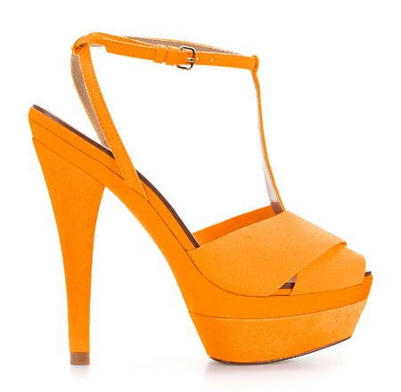 zara yellow platforms
