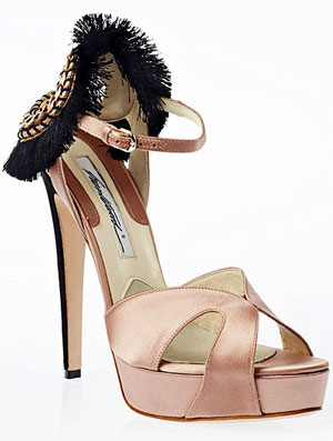 Brian Atwood vanity sandals