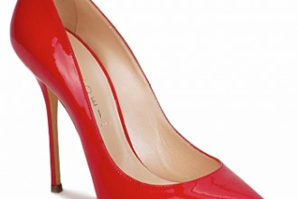 Casadei Agathe red pumps