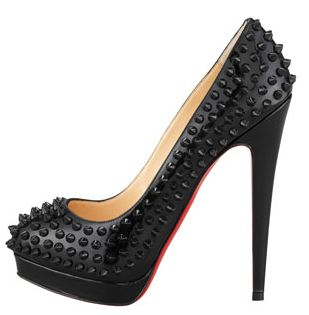 christian louboutin alti spiked pumps