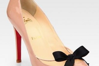 Christian Louboutin bow Pigalle