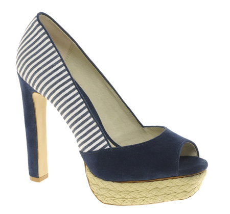 Nautical shoes from Faith