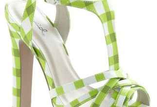 Modcloth Lime Up Sandals