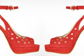 Moschino heart shoes