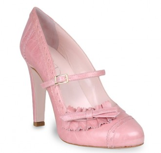 Red Valentino pink brogues
