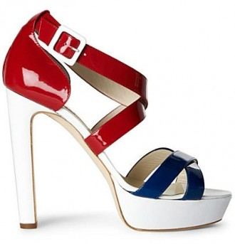 Rupert Sanderson Nautical sandals from Shoeperwoman.com
