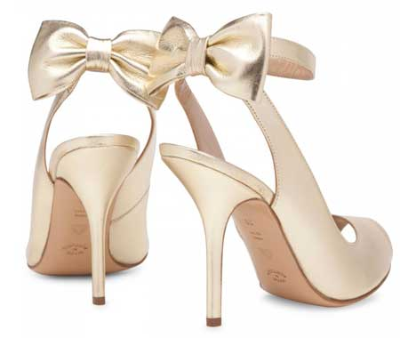 shoes with bow