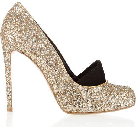 Stella McCartney glitter shoes