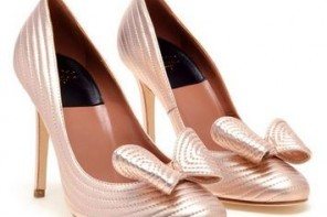 Laurence Dacade pink bow court shoes