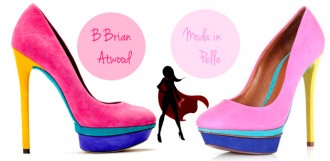 Shoe DejaVu: Brian Atwood Vs Moda in Pelle colourblock heels