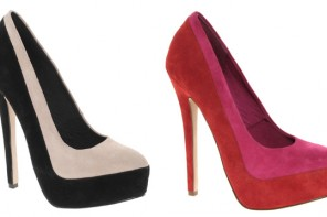 High heel pumps from ASOS