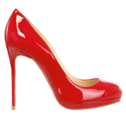 red christian louboutin pumps
