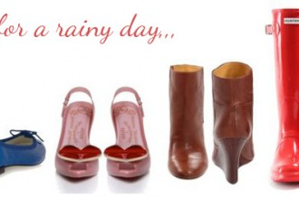 shoes for the rain