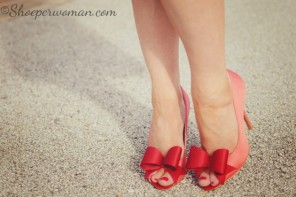 Ted Baker 'Keanah' bow shoes