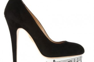 50ee94a13e61 Charlotte Olympia  Dance With Me  pumps in black suede