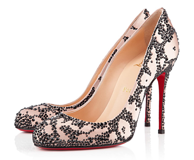 Christian Louboutin Devone 100mm satin pumps