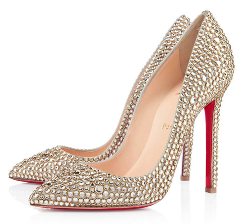Christian Louboutin Pigalle 120 Strass