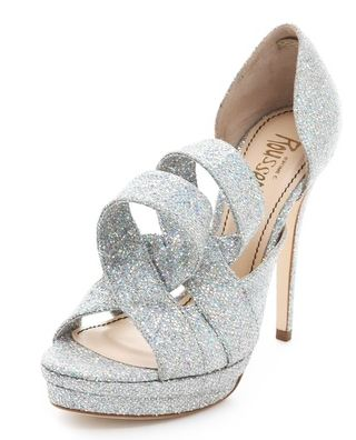Jerome C Rouseau glitter shoes