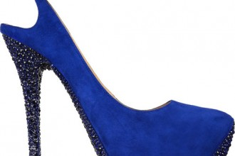 Jimmy Choo 'Tame' crystal-embellished suede pumps
