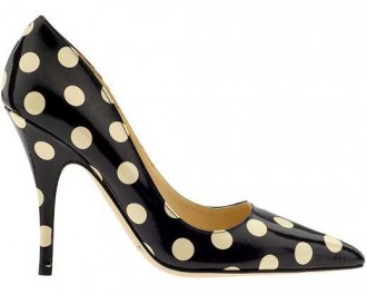 Kate Spade polka dot shoes