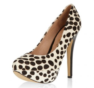 Dalmatian print platforms from Dorothy Perkins