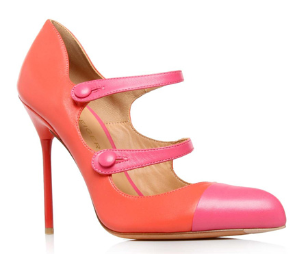 Kurt Geiger 'Lucy' double strap Mary Janes