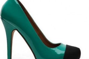 Michael Antonio 'Louie' patent toecap pumps