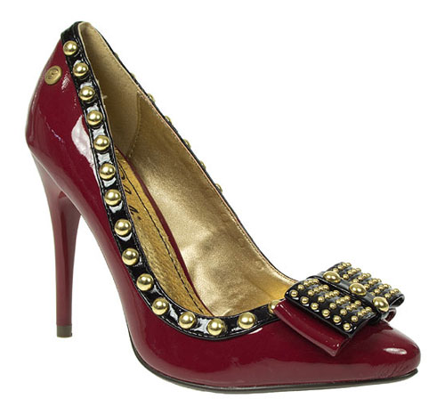 Blink Studded Pointy Court Shoes