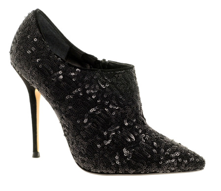 Dune Bagpipes Sequin Shoe Boots