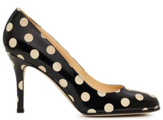 kate spade polka dot heels