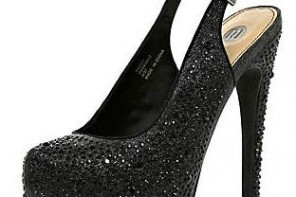 black party shoes