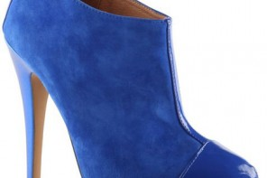 blue suede shoe boots