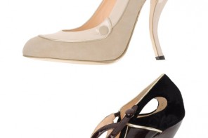curve heel shoes