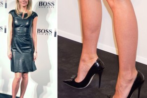 Gwyneth Paltrow in Jimmy Choo 'Maya' pumps