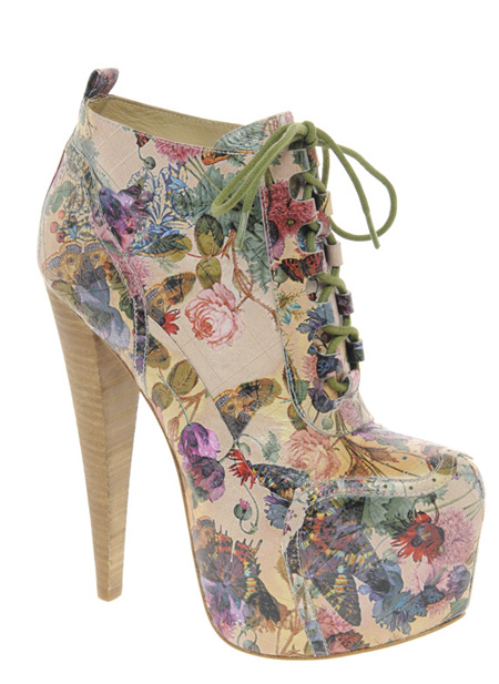 ALDO Rise x Preen platform heeled ankle boots