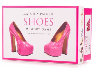 Matching Shoes Memory Game