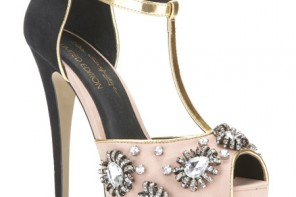 Miss Selfridge 'Power of Love' t-bar sandals