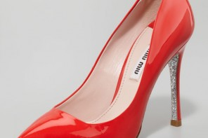 Miu Miu red pumps