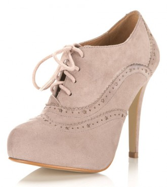nude shoe boots