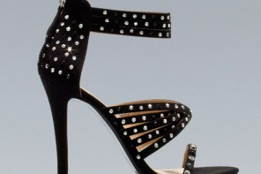 Zara studded strappy sandals