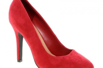 New Look Ride Classic Red Pointed Court Shoes