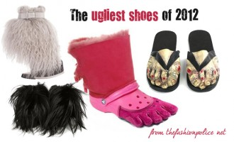 the ugliest shoes of 2012