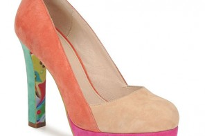 colour block shoes