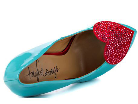 Shoes with Hearts