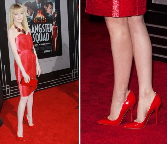 Emma Stone in Christian Louboutin 'Pigalle'